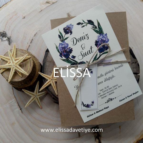 Elissa Wedding İnvitations - ELS 695